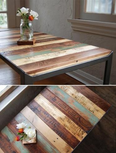 recycled-hardwood-flooring-table